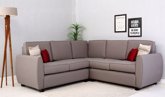 Bring Comfort And Style To Your Living Room With This Fraser Fabric Sofa Which Is Designed In L Shape Provide Enough Seating For All Family Member