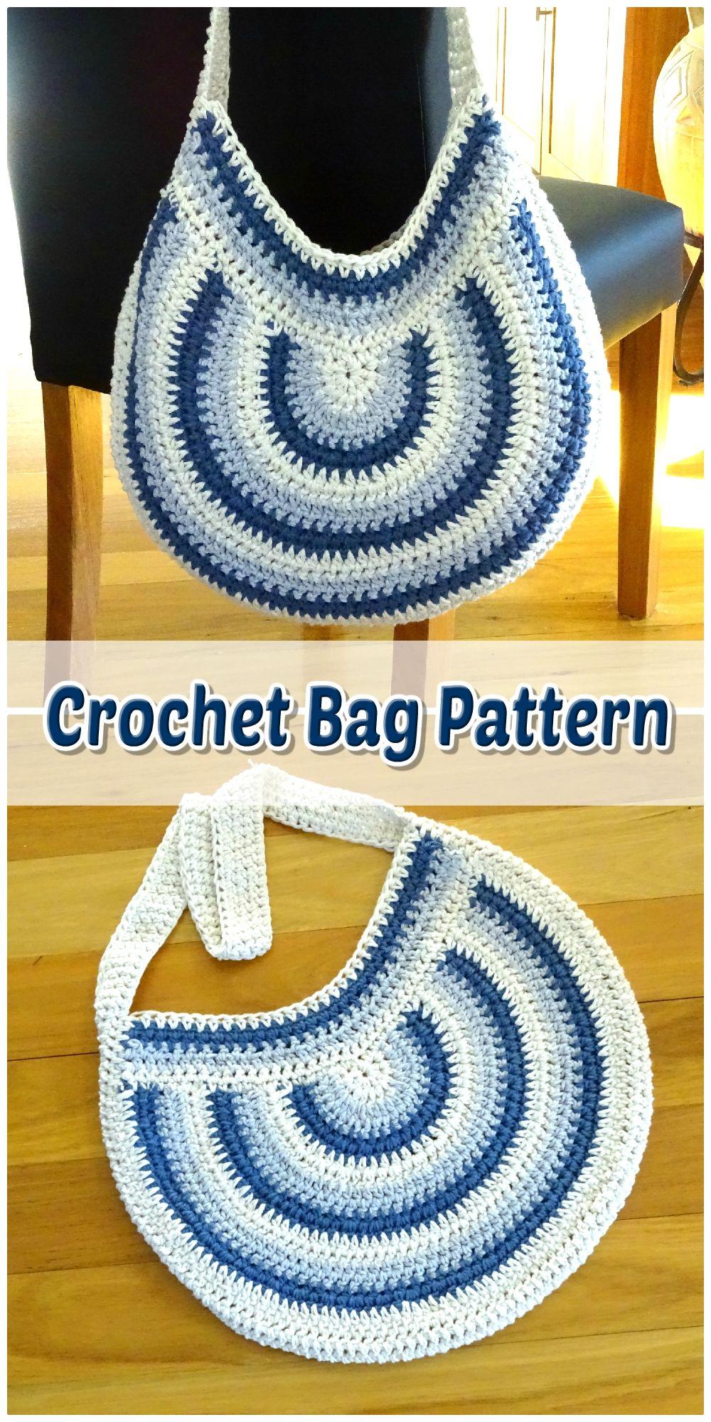 make you own DIY crochet tote bag purse how to beginner crochet starter kit crochet handbag tutorial Crochet cotton BAG PDF pattern