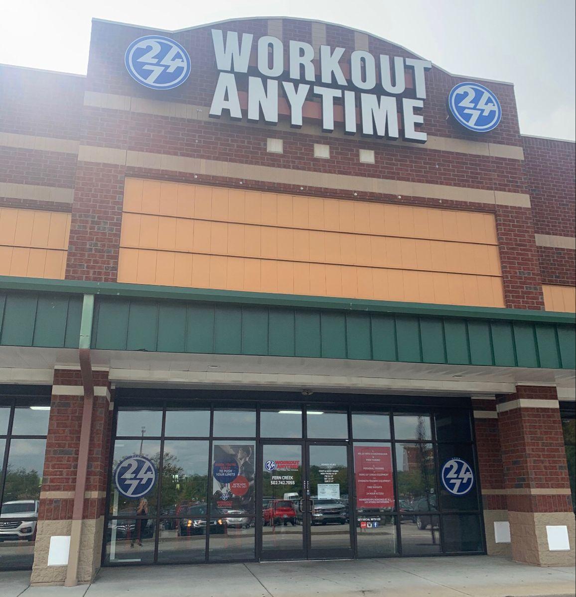 Fern Creek Louisville Kentucky Anytime Fitness Gym Franchise Louisville