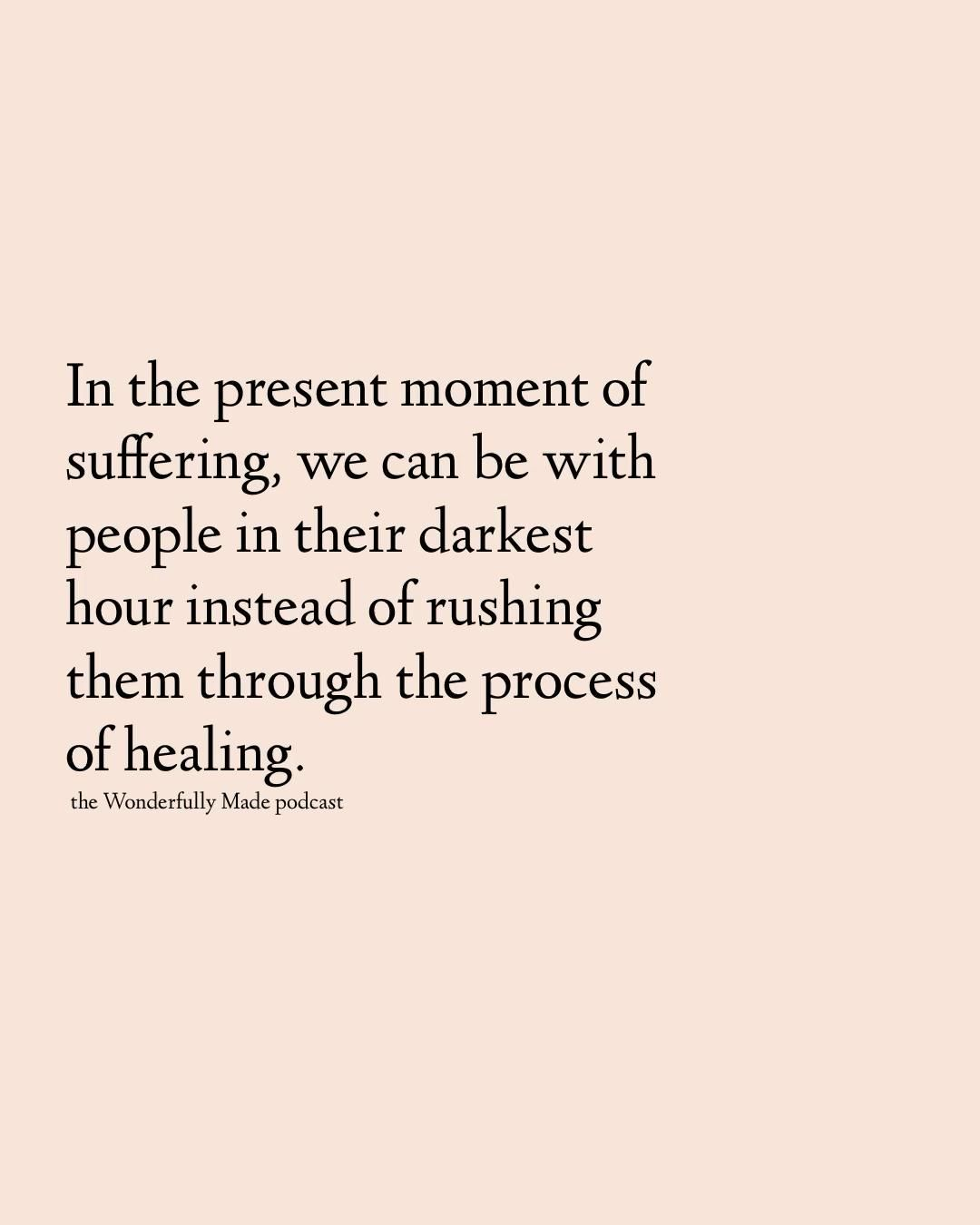 Managing pain and grief