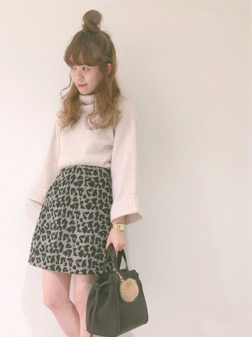 🐰💗 アニマル柄 と  pink ♡♡♡ レオパード 可愛い🐅