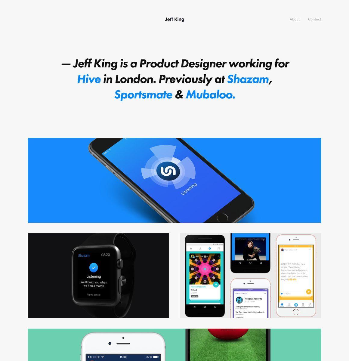 Pin on Best UX Portfolio Websites