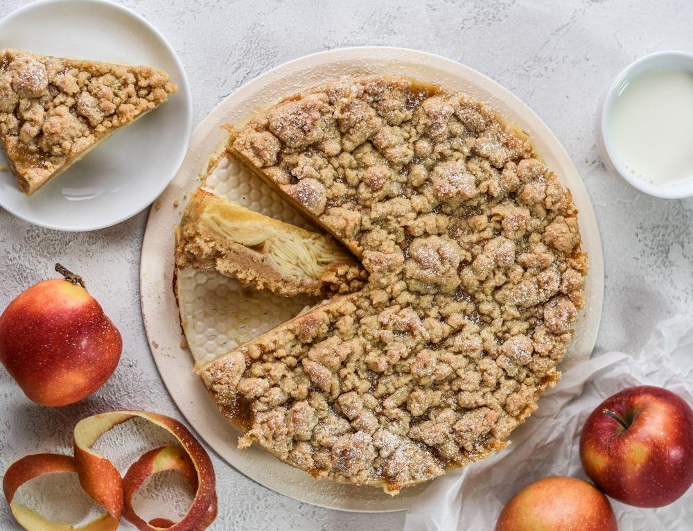 Saftiger Apfel Streusel Kuchen Rezepte Kochen Backen Getranke Lieblingskuche Rezept Streusel Kuchen Lebensmittel Essen Kuchen