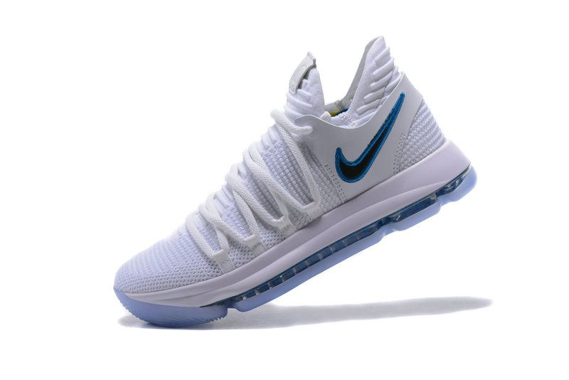 2357a48c723c Cheap 2018 Nike Kd 10 Numbers White Game Royal University Gold Shoe ...