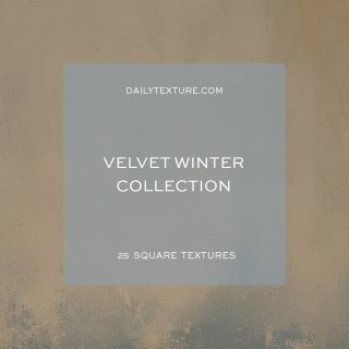 The Velvet Winter Texture Collection features 25 square painted