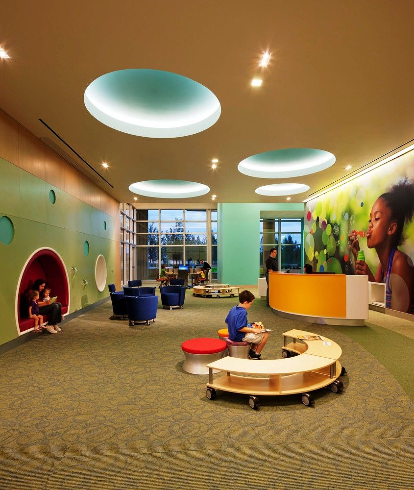 Pin by Ahlam cluntun on children clinic | Hospital design