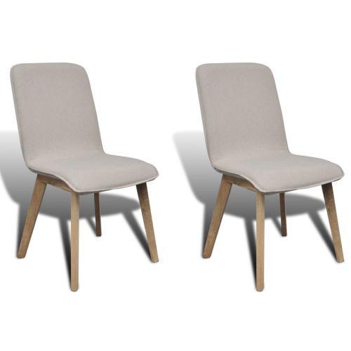 2xStühle Stuhl Stuhlgruppe Hochlehner Esszimmerstühle Esszimmer Eiche Beige  #Ssparen25.com , Sparen25.de
