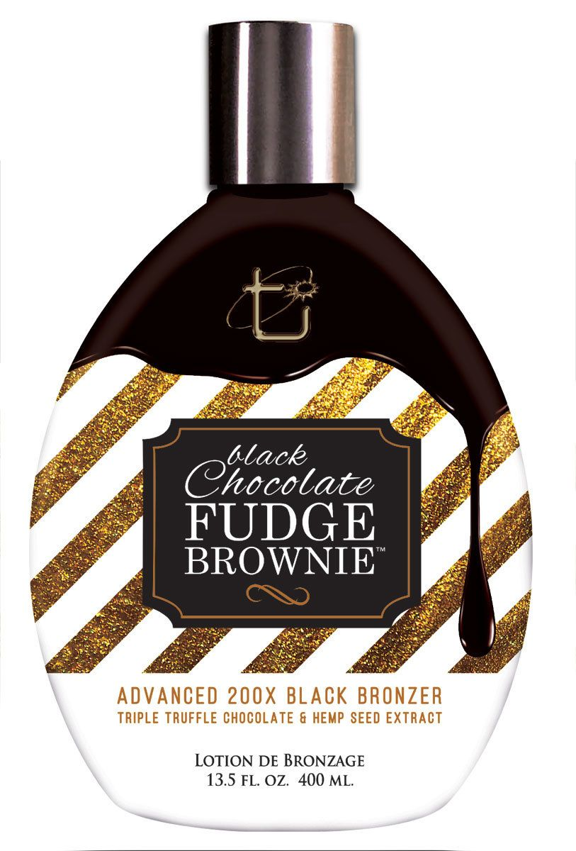 Tan Inc. Black Chocolate Fudge Brownie, 13.5 fl oz Best
