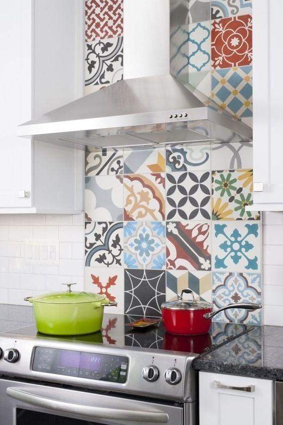 Mix And Match Those Patterns   Kitchen   Pinterest   Cocinas ...