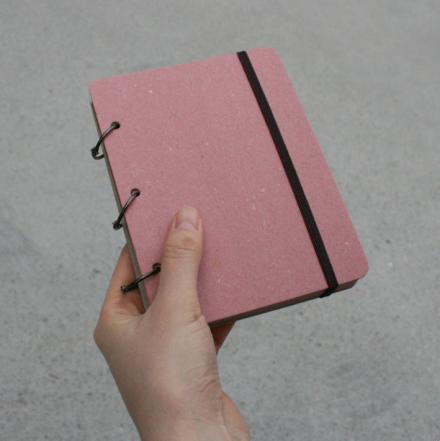 Libreta para notas de color rosa o kraft. A la venta en: www.mrwonderfulshop.es #libreta #notas