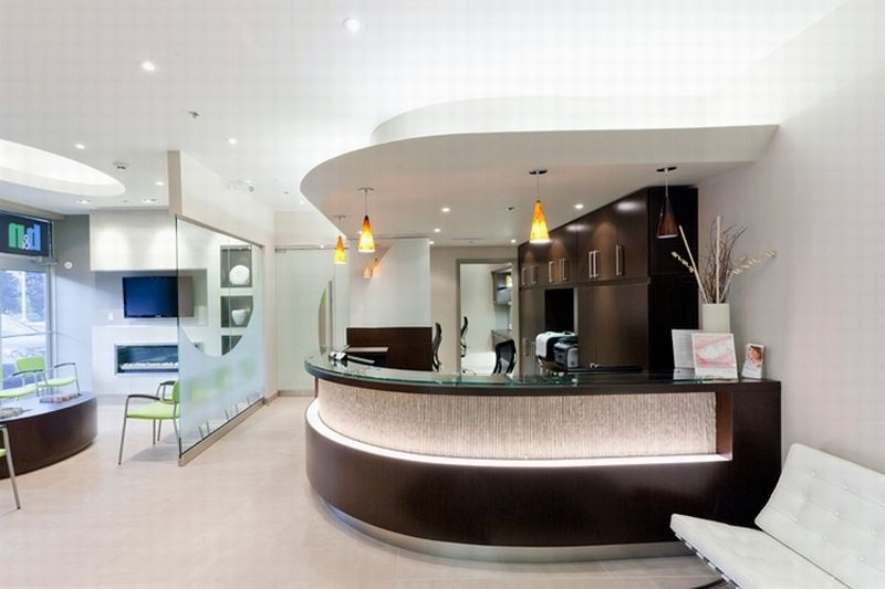 Image Of Attractive And Modern Dental Office Interior Design Ideas And  Pictures