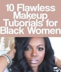 15 ideas for makeup tips for beginners black women
