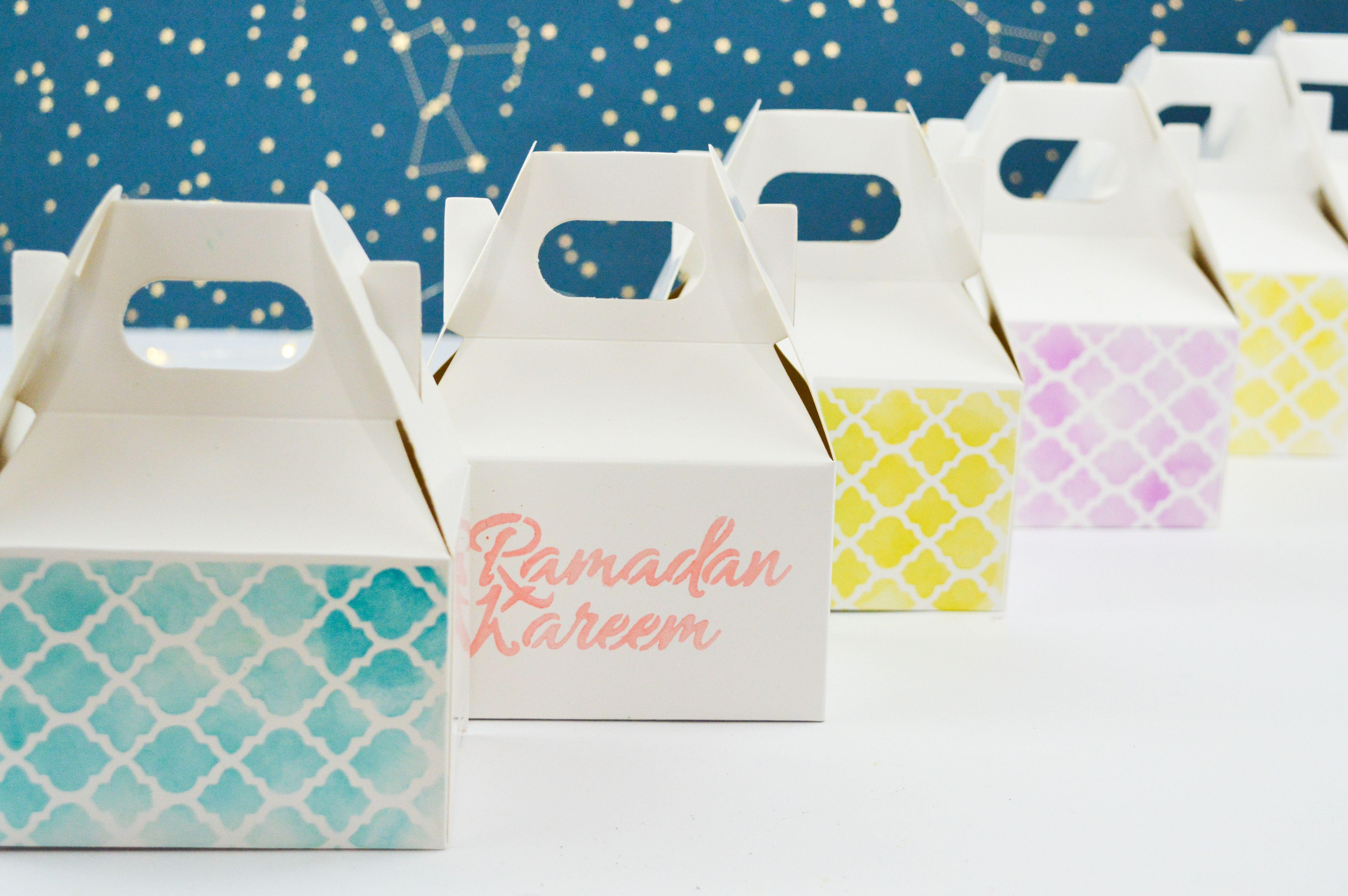 Diy Ramadan Gift Boxes Diy Gift Box Ramadan Gifts Personalised Box