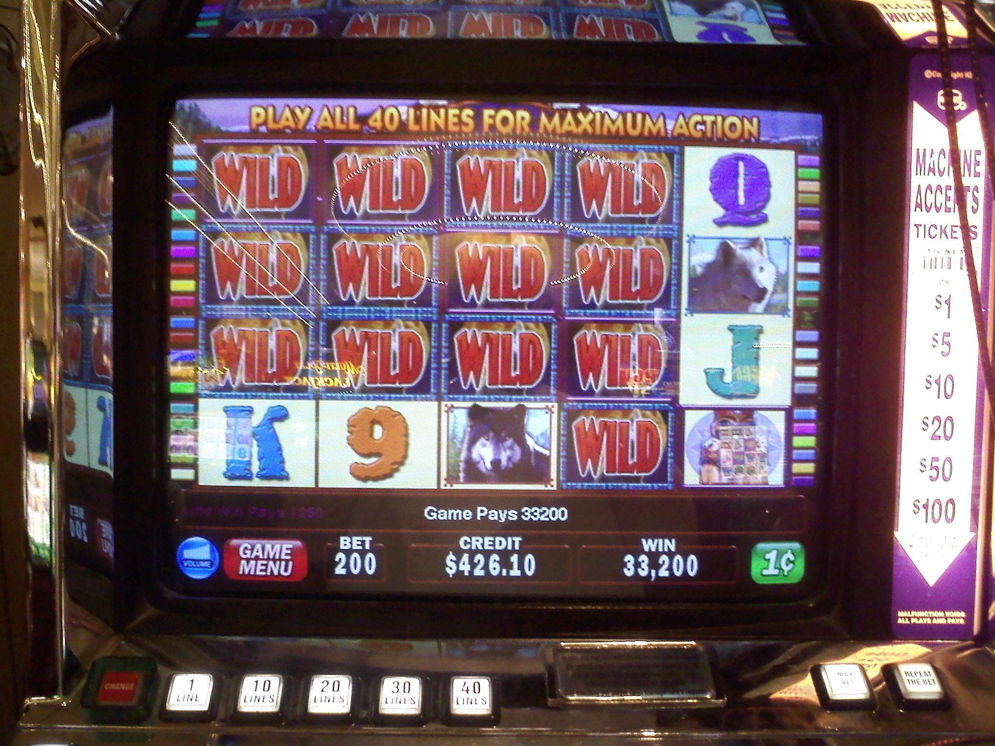 $5 slot machine payouts