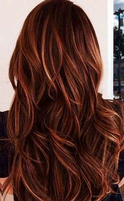 كتالوج و درجات لون صبغة غارنييه بني و افضل الانواع و الاسعار Hair Color Auburn Dark Red Hair Color Red Hair With Blonde Highlights
