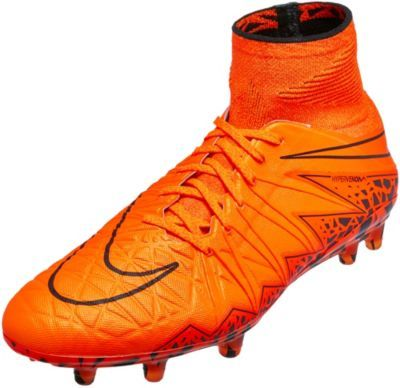 nike hypervenom cleats orange
