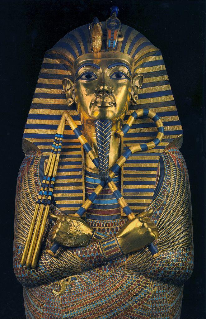 Tutankhamun Second Coffin