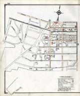 Historic Map Stewart Ave Franklin Ave Nassau County 1914 Long