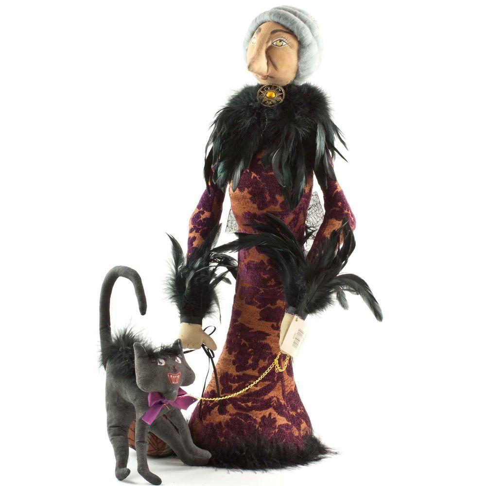 Halloween JOE SPENCER Witch MADAME PLETSKYA Cat Doll Gathered ...