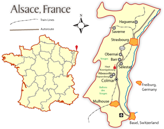 Explore The Regions Of France France Alsace And Lorraine