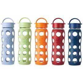 glass water bottles, lifefactory