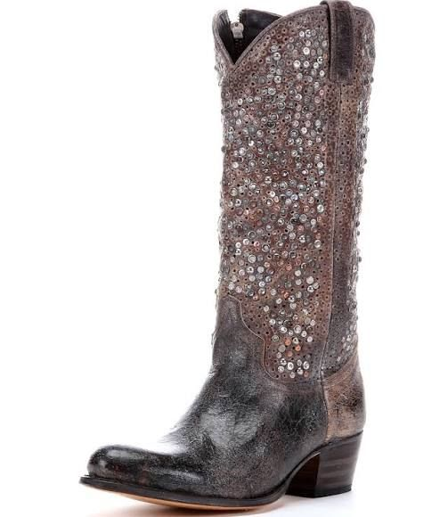 755bc97847b9 Frye Women s Deborah Studded Tall Boot - Grey