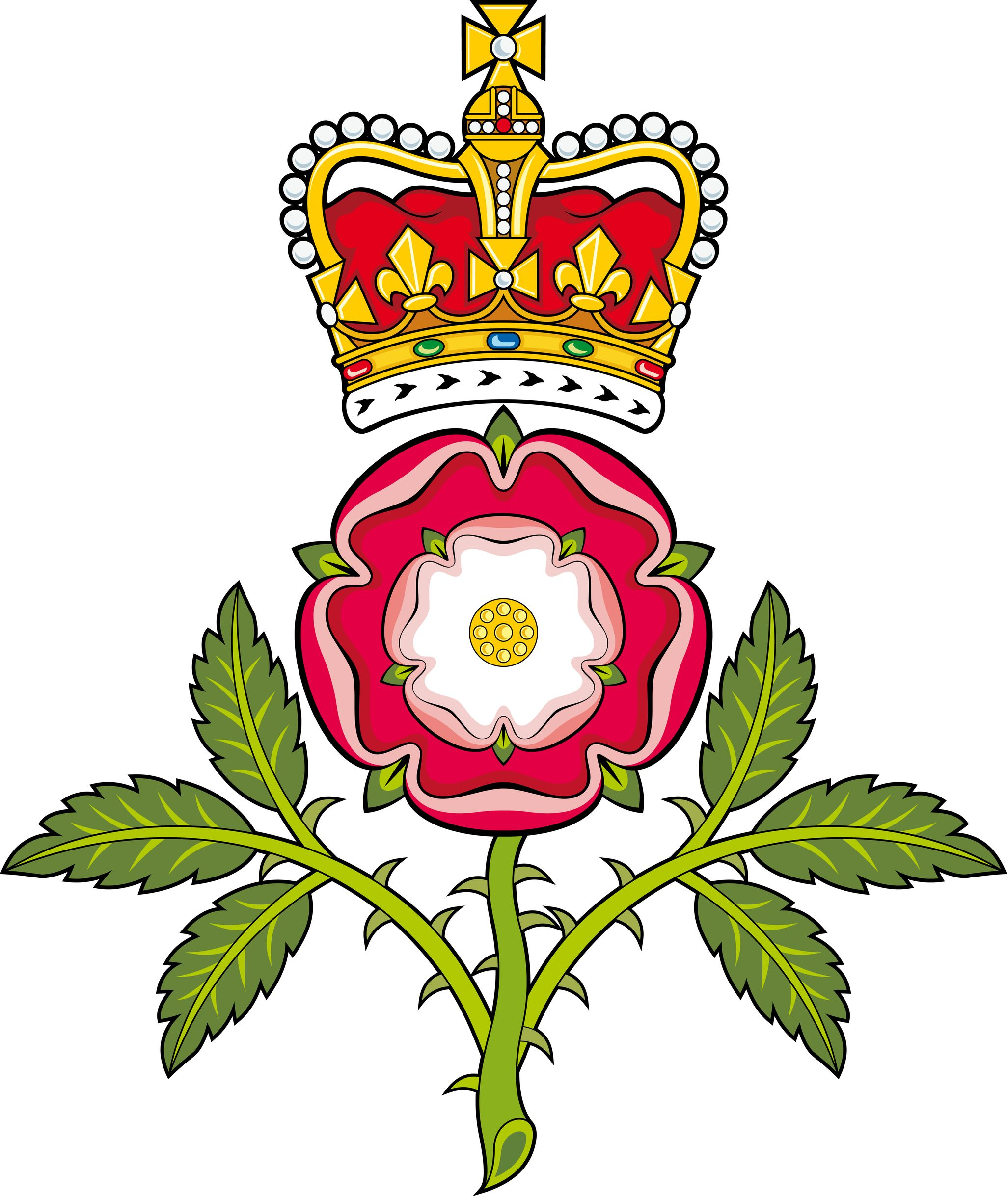 The tudor crest combining the white rose of york with the red rose explore tudor rose white roses and more buycottarizona Choice Image