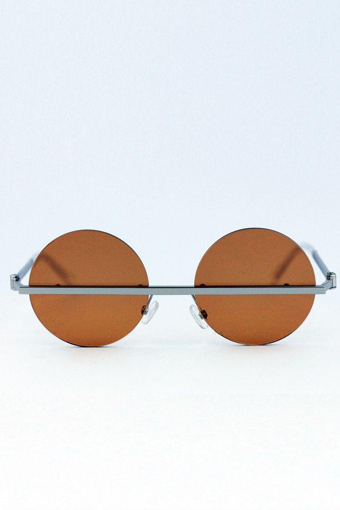 Frameless Metal Glasses