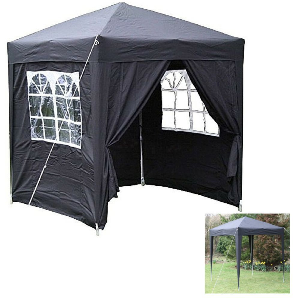 Gazebo curtains outdoor - Outdoor Pop Up Gazebo Panel Windows Curtains Tent Picnic Bbq Canopy Kits Party In Garden