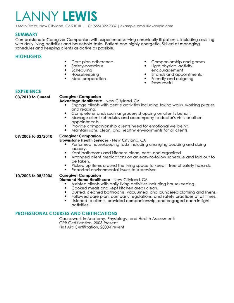 Live Career Resume Builder Sample - http://www.resumecareer.info ...