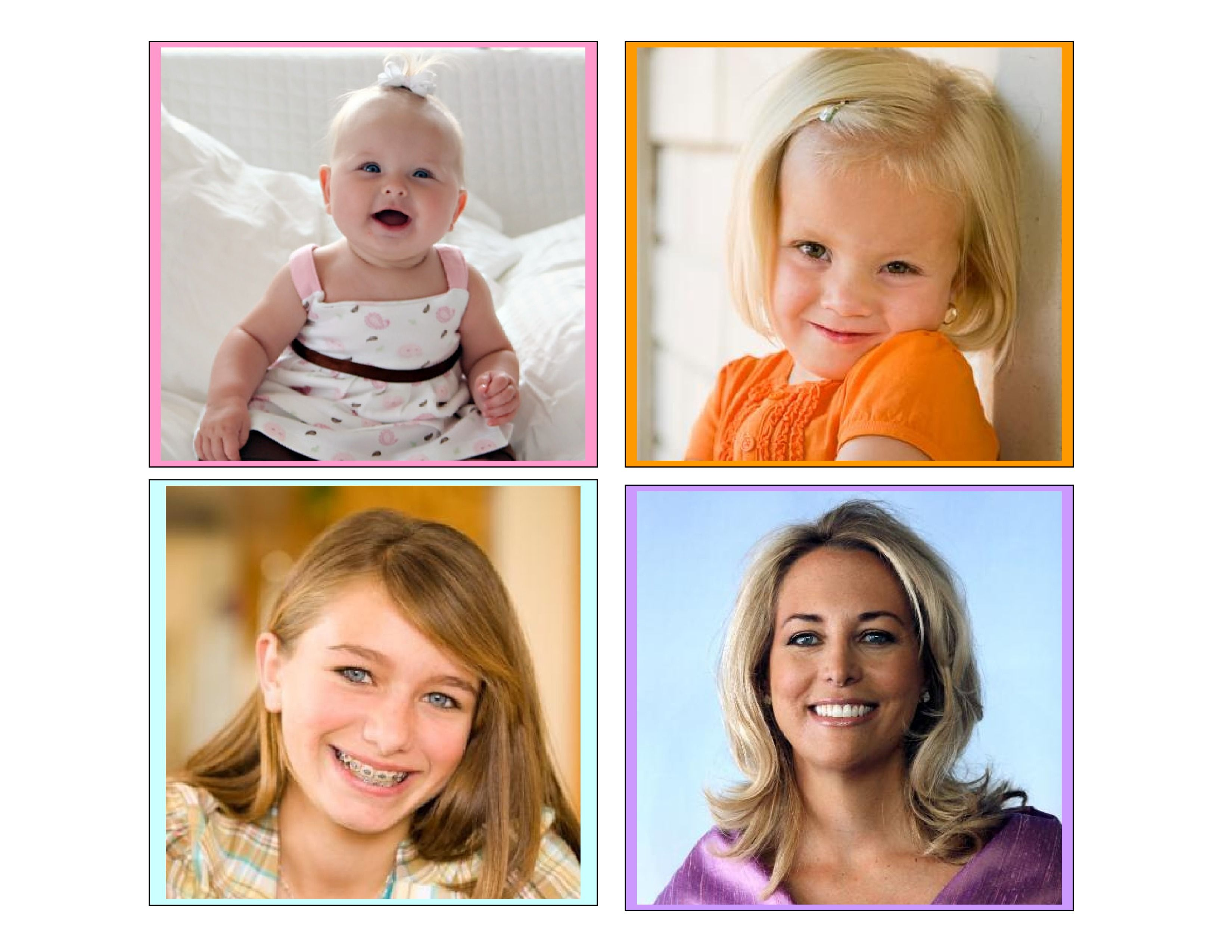 Baby To Woman Sequence Cards Encourage Preschoolers To Develop Logical Thinking Skills