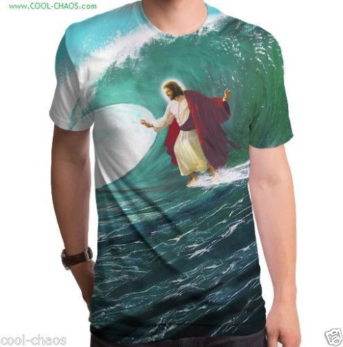a1b95932 This Jesus surfing shirt is the perfect gift for a youth leader or youth  director at your church. Surfs Up, Goodie Two Sleeves, Cool Tees, Cool T ...