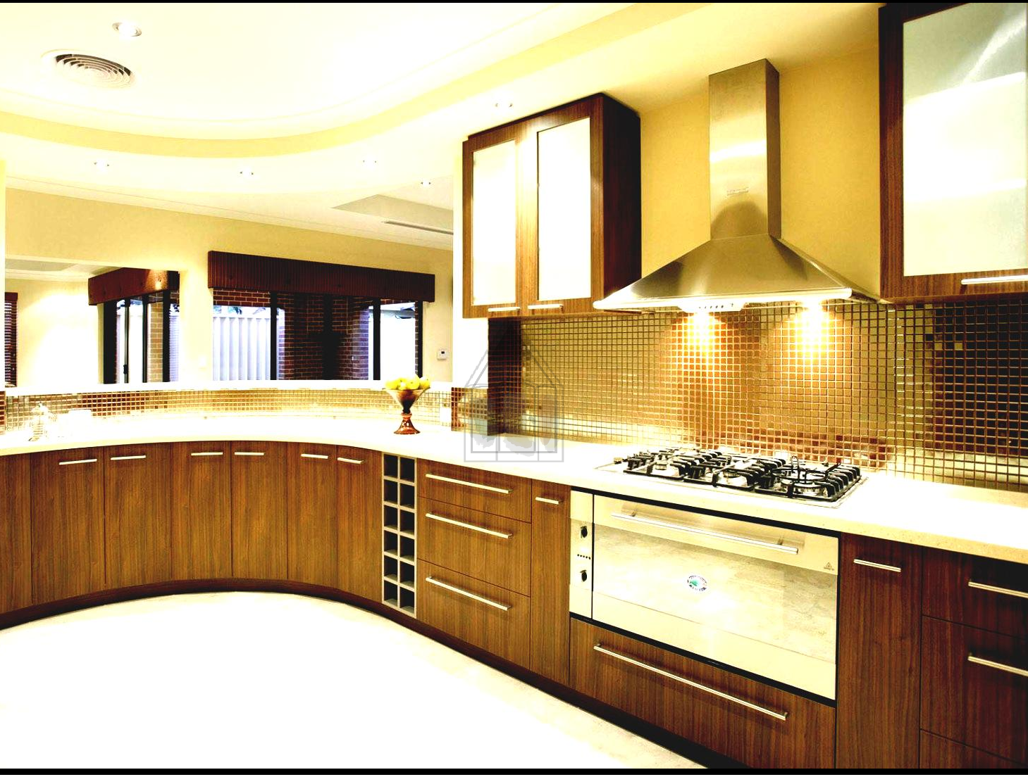 Kitchenette Design Of A Large House In Karachi This Is Mini Kitchen For But Can Be Easily Replicated Small