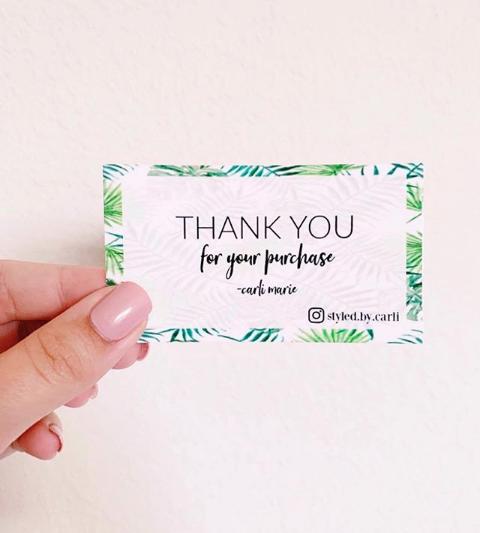 styledbycarli on instagram  poshmark business cards