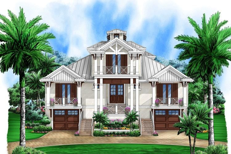 House Plan 1018 Florida Plan 4 435 Square Feet 5 Bedrooms 5 5 Bathrooms