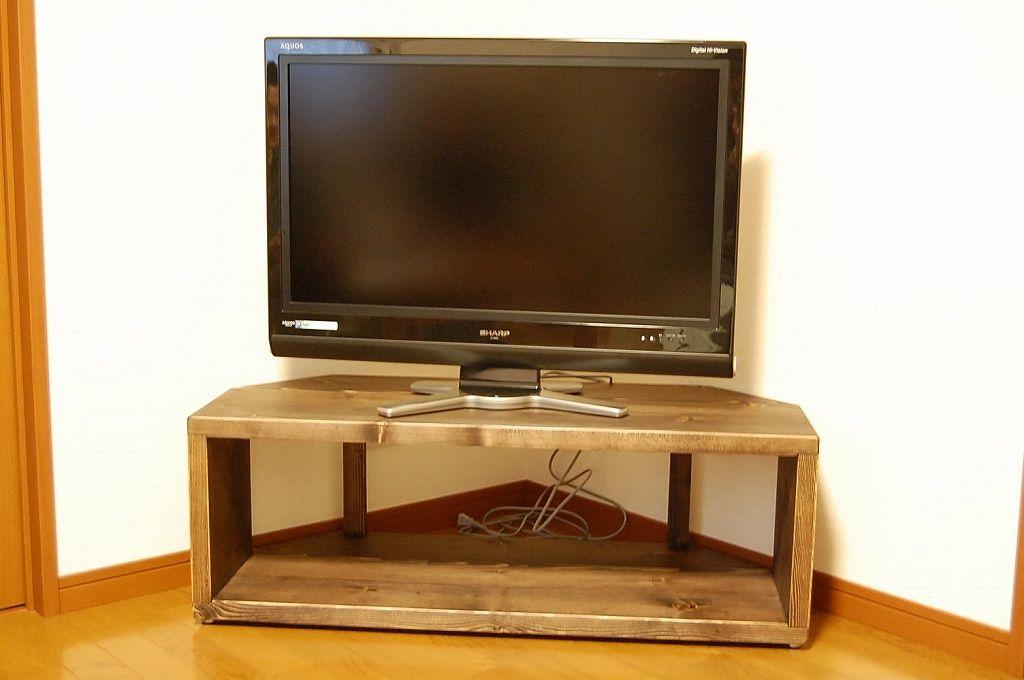 手作りテレビ台のdiy作品集 ボード 自作 画像 設計図 作り方 テレビ台 手作り家具 木工房 ウッドボックス Entertainment Unit Decor Home Decor