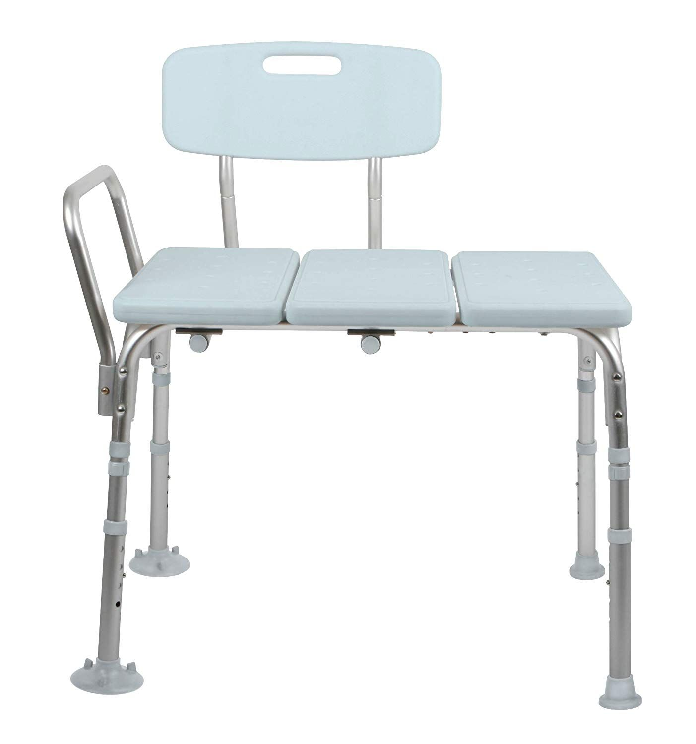 Medline Microban Medical Transfer Bench With Antimicrobial Protection For Bath Safety Shower Use And Bacteria Transfer Bench Benches For Sale Bench With Back
