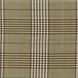 Newberry Plaid Sand Tan Plaid Upholstery Fabric Sw46768 Fabric