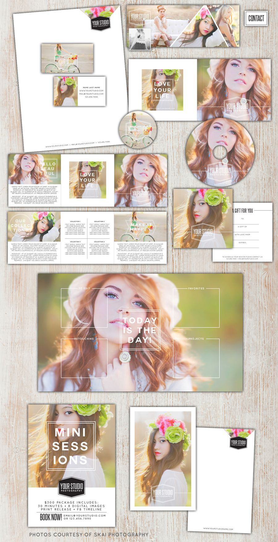Marketing designs for photographers - Photoshop organizing tools for ...
