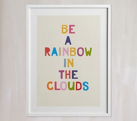 Rainbow In A Cloud Wall Art By Minted<sup>®</sup> images