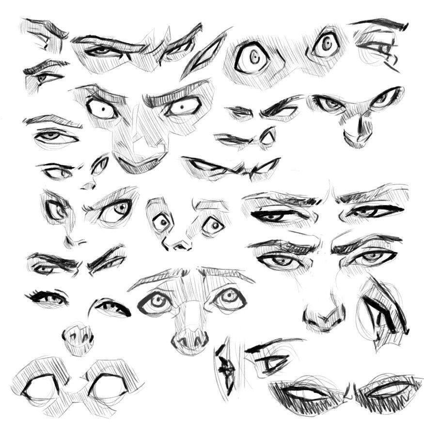 Eyes Reference Sketches By Juan Ayala Jr Instagram Com Juandraws Drawing Expressions Eye Drawing Figure Drawing Reference