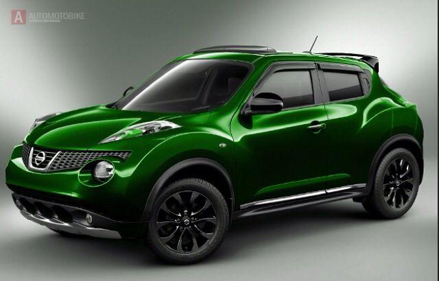 Nissan Juke Green | Wheels I'd drive... and not crash ...