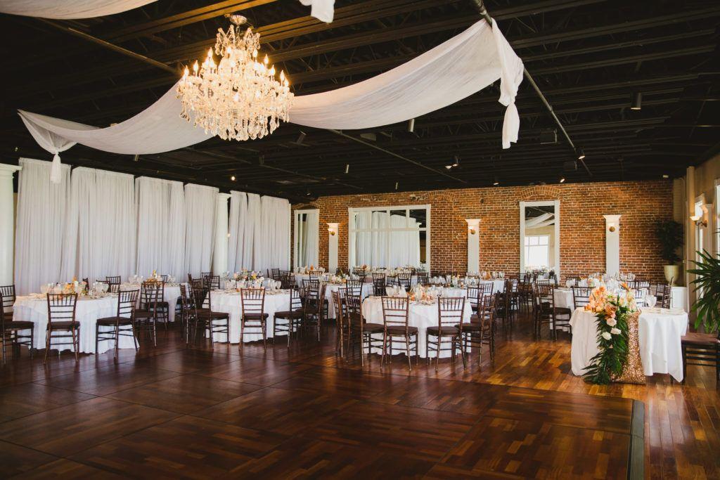 Tropical White Room Wedding- St. Augustine | Wedding ...