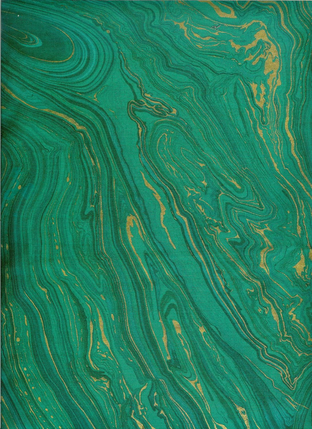 Marbled Green + Gold Emerald Pantone 2013 Pinterest