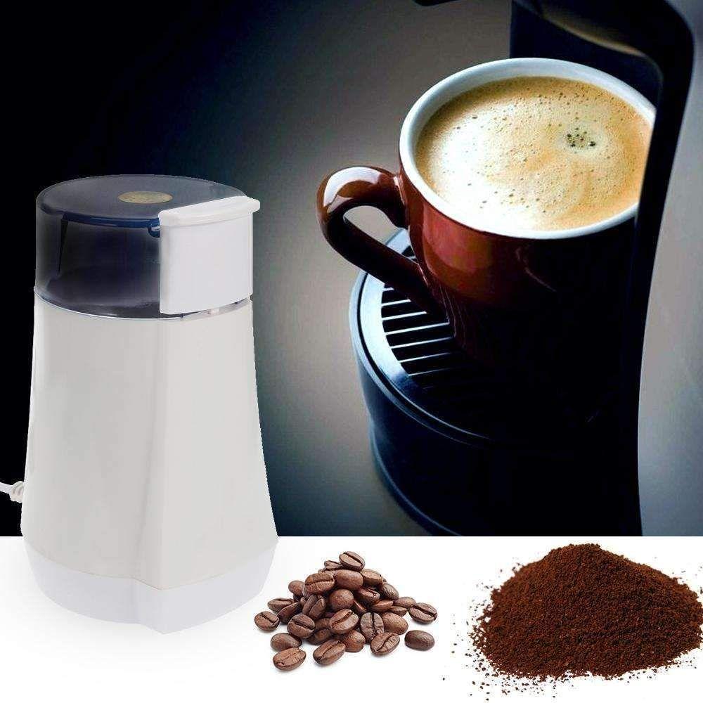 Coffee bean grinder electric grinding miller 130w powerful