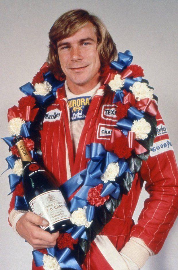 James Hunt - Regno Unito - Champion 1976 | James hunt ...