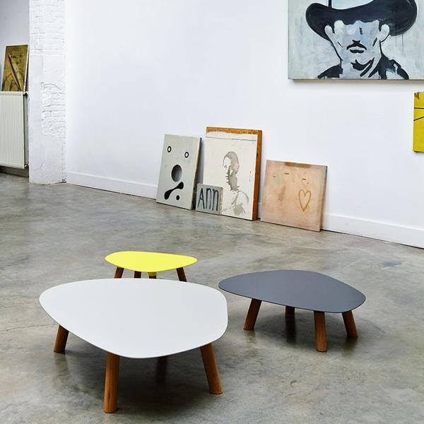 Ethnicraft Universo Positivo Turtle Table Medium Coffee Table Turtle Table Living Table