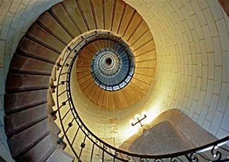 Saint Guenole, Bretagne spiral staircase