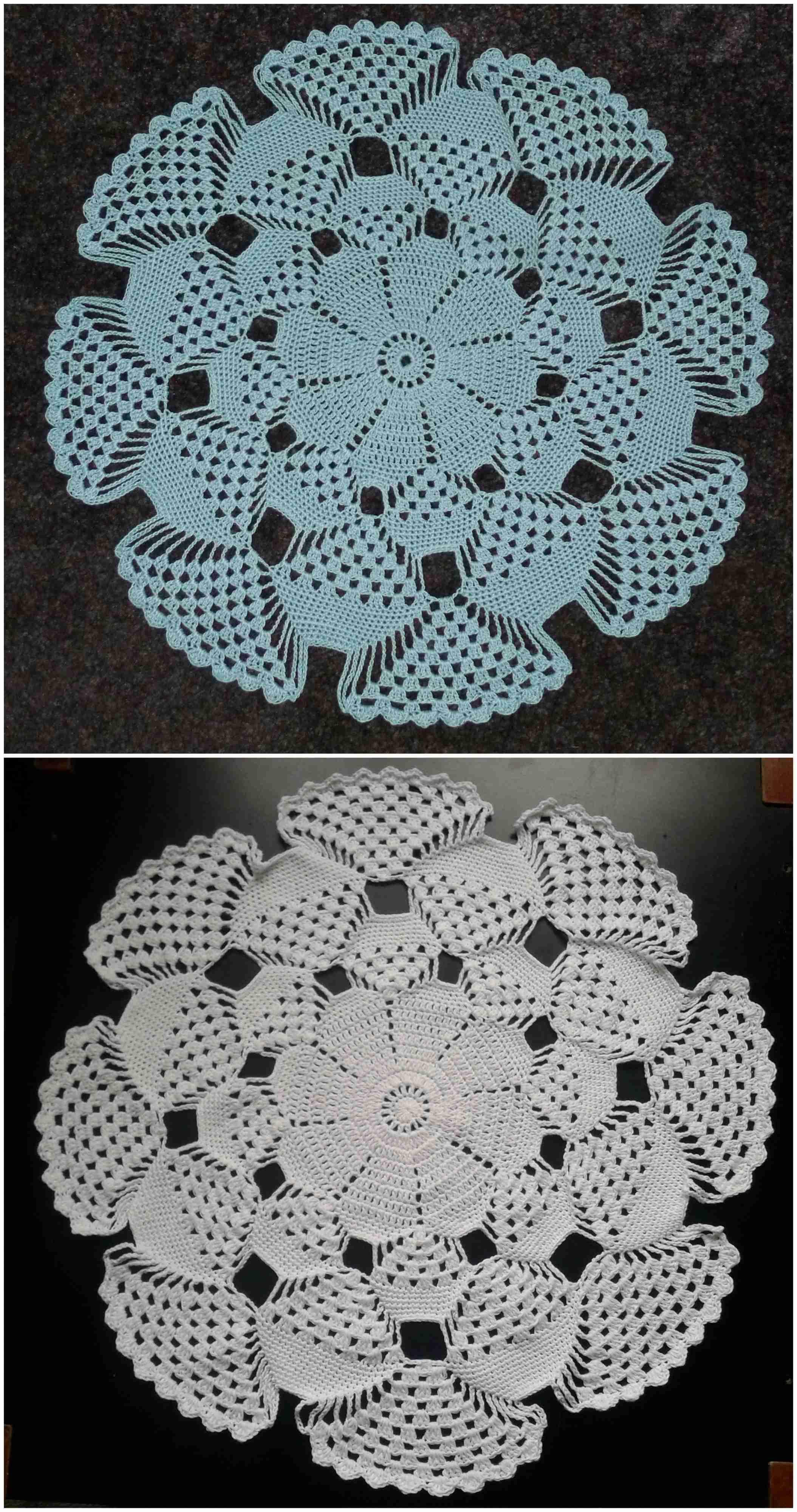 Crochet 3d Doily Craft Ideas Crochet Doilies Crafts Crochet