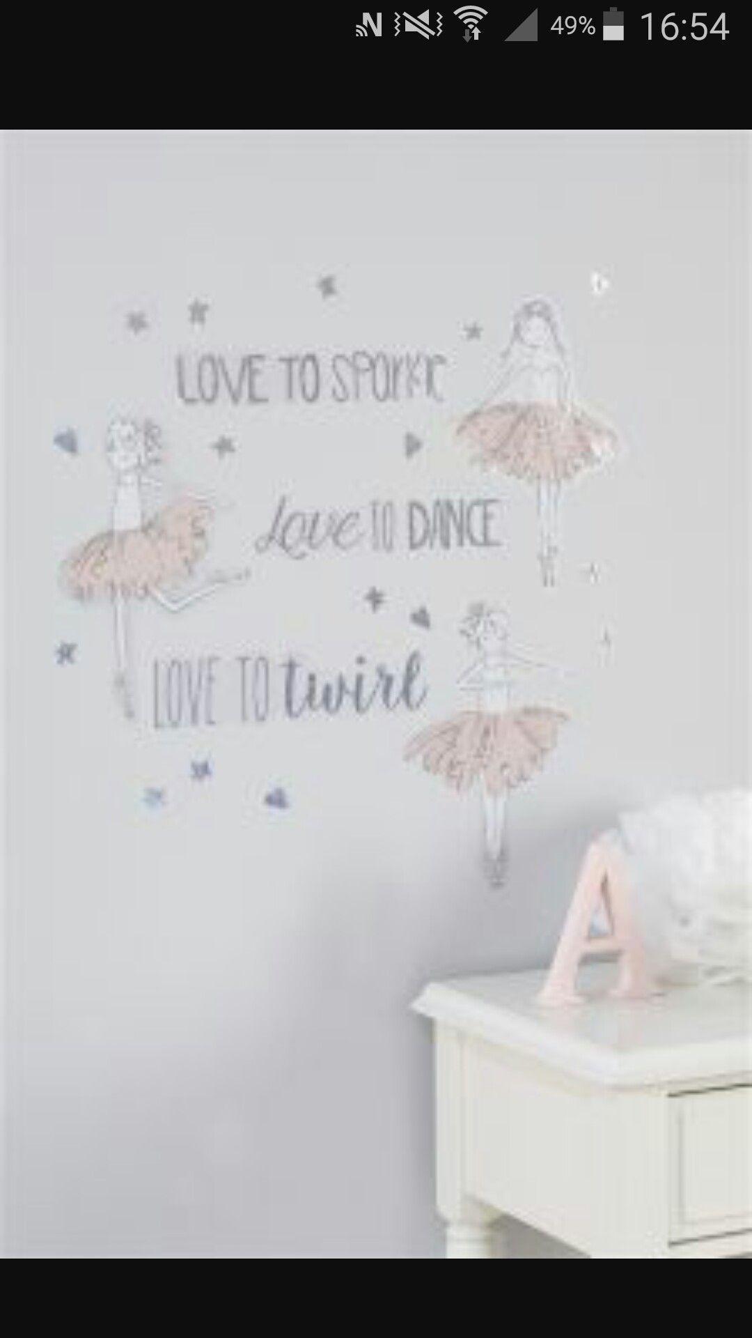 89e6c4ee5c2 Elegant Ballerina Room Any Girl Would Want | Home sweet home ...